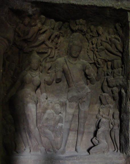 Shiva and Pavarti